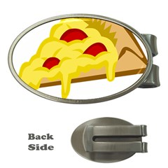Pasta Salad Pizza Cheese Money Clips (oval)