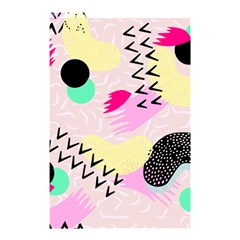 Pink Circle Red Pattern,sexy Shower Curtain 48  X 72  (small)