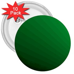Green Beach Fractal Backdrop Background 3  Buttons (10 pack)