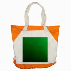 Green Beach Fractal Backdrop Background Accent Tote Bag