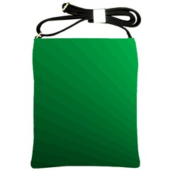 Green Beach Fractal Backdrop Background Shoulder Sling Bags