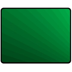 Green Beach Fractal Backdrop Background Fleece Blanket (medium)