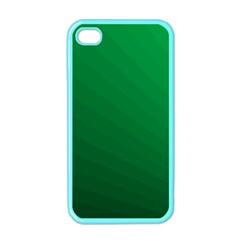 Green Beach Fractal Backdrop Background Apple iPhone 4 Case (Color)