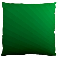 Green Beach Fractal Backdrop Background Large Cushion Case (One Side)