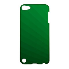 Green Beach Fractal Backdrop Background Apple Ipod Touch 5 Hardshell Case