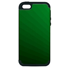 Green Beach Fractal Backdrop Background Apple iPhone 5 Hardshell Case (PC+Silicone)