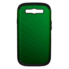 Green Beach Fractal Backdrop Background Samsung Galaxy S Iii Hardshell Case (pc+silicone)