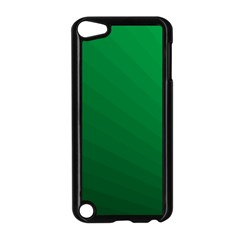 Green Beach Fractal Backdrop Background Apple iPod Touch 5 Case (Black)