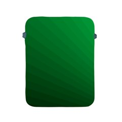 Green Beach Fractal Backdrop Background Apple Ipad 2/3/4 Protective Soft Cases