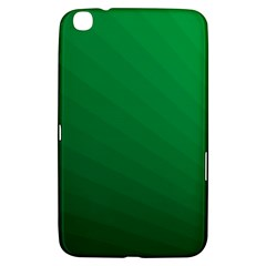 Green Beach Fractal Backdrop Background Samsung Galaxy Tab 3 (8 ) T3100 Hardshell Case
