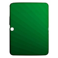 Green Beach Fractal Backdrop Background Samsung Galaxy Tab 3 (10.1 ) P5200 Hardshell Case