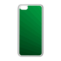 Green Beach Fractal Backdrop Background Apple iPhone 5C Seamless Case (White)