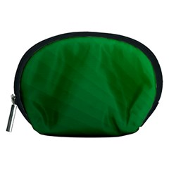 Green Beach Fractal Backdrop Background Accessory Pouches (Medium)