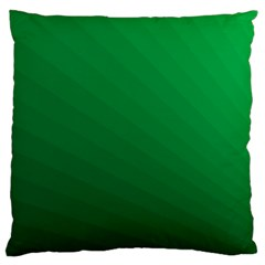 Green Beach Fractal Backdrop Background Standard Flano Cushion Case (two Sides)