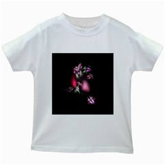 Colour Of Nature Fractal A Nice Fractal Coloured Garden Kids White T-Shirts