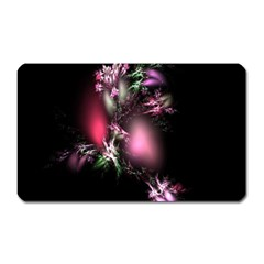 Colour Of Nature Fractal A Nice Fractal Coloured Garden Magnet (Rectangular)
