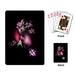 Colour Of Nature Fractal A Nice Fractal Coloured Garden Playing Card