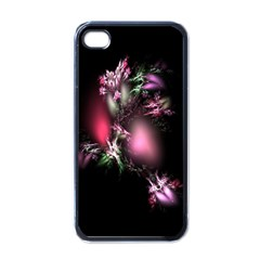 Colour Of Nature Fractal A Nice Fractal Coloured Garden Apple iPhone 4 Case (Black)