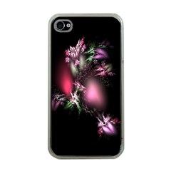 Colour Of Nature Fractal A Nice Fractal Coloured Garden Apple Iphone 4 Case (clear)