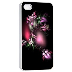 Colour Of Nature Fractal A Nice Fractal Coloured Garden Apple Iphone 4/4s Seamless Case (white)