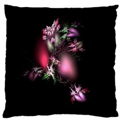 Colour Of Nature Fractal A Nice Fractal Coloured Garden Large Cushion Case (One Side)