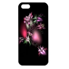 Colour Of Nature Fractal A Nice Fractal Coloured Garden Apple iPhone 5 Seamless Case (Black)