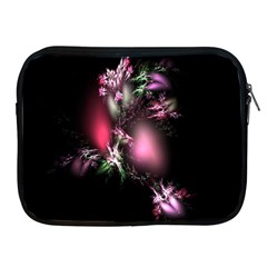 Colour Of Nature Fractal A Nice Fractal Coloured Garden Apple iPad 2/3/4 Zipper Cases