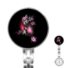 Colour Of Nature Fractal A Nice Fractal Coloured Garden Stainless Steel Nurses Watch