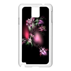 Colour Of Nature Fractal A Nice Fractal Coloured Garden Samsung Galaxy Note 3 N9005 Case (White)