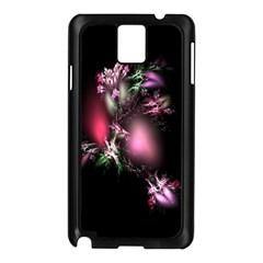 Colour Of Nature Fractal A Nice Fractal Coloured Garden Samsung Galaxy Note 3 N9005 Case (black)