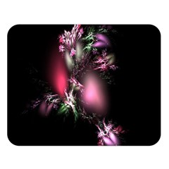 Colour Of Nature Fractal A Nice Fractal Coloured Garden Double Sided Flano Blanket (large)
