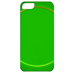 Green Circle Fractal Frame Apple iPhone 5 Classic Hardshell Case