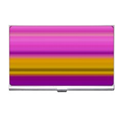 Stripes Colorful Background Colorful Pink Red Purple Green Yellow Striped Wallpaper Business Card Holders