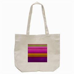 Stripes Colorful Background Colorful Pink Red Purple Green Yellow Striped Wallpaper Tote Bag (cream)