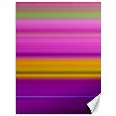 Stripes Colorful Background Colorful Pink Red Purple Green Yellow Striped Wallpaper Canvas 36  X 48