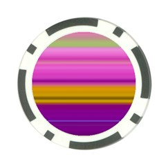 Stripes Colorful Background Colorful Pink Red Purple Green Yellow Striped Wallpaper Poker Chip Card Guard