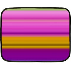Stripes Colorful Background Colorful Pink Red Purple Green Yellow Striped Wallpaper Double Sided Fleece Blanket (mini)