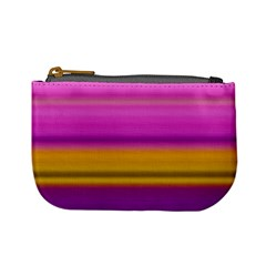 Stripes Colorful Background Colorful Pink Red Purple Green Yellow Striped Wallpaper Mini Coin Purses