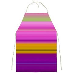 Stripes Colorful Background Colorful Pink Red Purple Green Yellow Striped Wallpaper Full Print Aprons