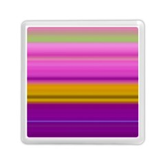 Stripes Colorful Background Colorful Pink Red Purple Green Yellow Striped Wallpaper Memory Card Reader (square)