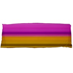 Stripes Colorful Background Colorful Pink Red Purple Green Yellow Striped Wallpaper Body Pillow Case (Dakimakura)