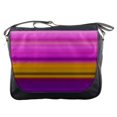 Stripes Colorful Background Colorful Pink Red Purple Green Yellow Striped Wallpaper Messenger Bags