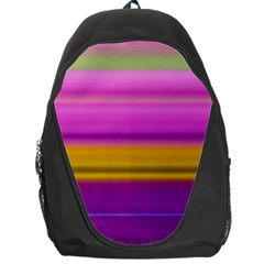 Stripes Colorful Background Colorful Pink Red Purple Green Yellow Striped Wallpaper Backpack Bag