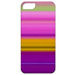 Stripes Colorful Background Colorful Pink Red Purple Green Yellow Striped Wallpaper Apple Iphone 5 Classic Hardshell Case