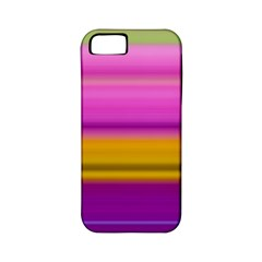 Stripes Colorful Background Colorful Pink Red Purple Green Yellow Striped Wallpaper Apple iPhone 5 Classic Hardshell Case (PC+Silicone)