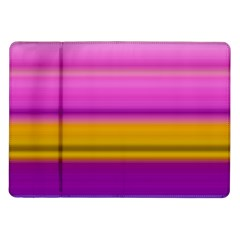 Stripes Colorful Background Colorful Pink Red Purple Green Yellow Striped Wallpaper Samsung Galaxy Tab 10 1  P7500 Flip Case