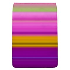 Stripes Colorful Background Colorful Pink Red Purple Green Yellow Striped Wallpaper Flap Covers (L)