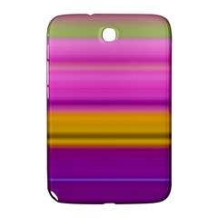 Stripes Colorful Background Colorful Pink Red Purple Green Yellow Striped Wallpaper Samsung Galaxy Note 8.0 N5100 Hardshell Case