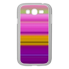 Stripes Colorful Background Colorful Pink Red Purple Green Yellow Striped Wallpaper Samsung Galaxy Grand DUOS I9082 Case (White)