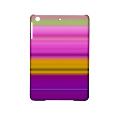 Stripes Colorful Background Colorful Pink Red Purple Green Yellow Striped Wallpaper iPad Mini 2 Hardshell Cases